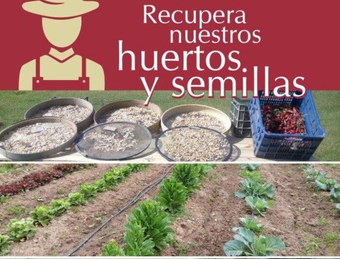 Consigue, dona o intercambia semillas y recupera la huerta tradicional de nuestra provincia