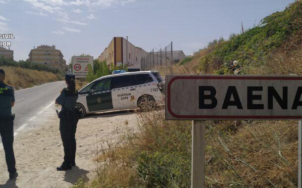 La Guardia Civil con la colaboración de la Policía Local detiene en Baena a los supuestos autores de un robo con escalo
