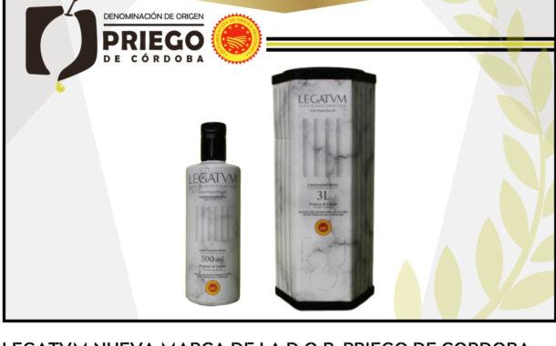 LEGATUM, la nueva marca de la D.O.P. Priego de Córdoba