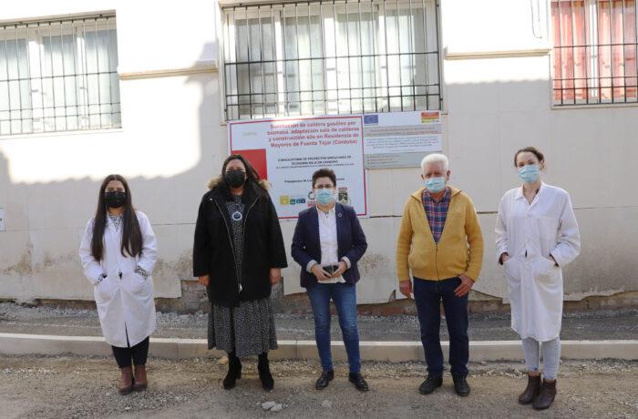 Concluye la renovación de la caldera de biomasa de la residencia de mayores de Fuente-Tójar