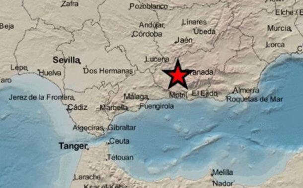 El seísmo producido en Granada ha sido sentido en el sur de Córdoba