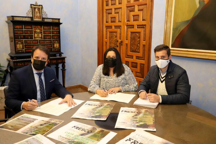 Iprodeco respalda la actividad de la Asociación de Empresarios y Comerciantes de Cabra (AECA)