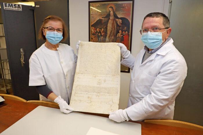 Documentos históricos del archivo de la Diputación serán digitalizados por una organización dedicada a la investigación genealógica