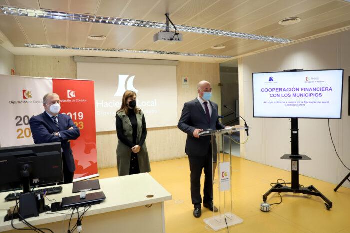 El anticipo de recaudación de la Diputación a los ayuntamientos asciende este año a 124,57 millones de euros