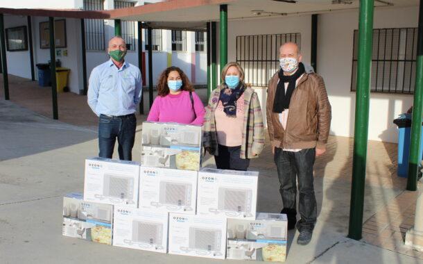 Purificadores de aire para las aulas del CEIP Rodríguez Vega de Almedinilla y aldeas