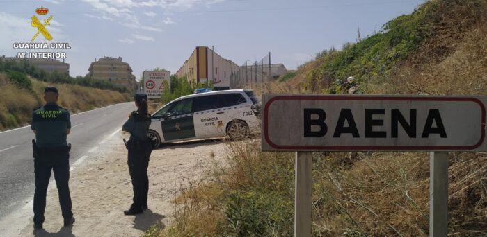 La Guardia Civil detiene en Baena al supuesto autor de un robo con intimidación con arma blanca