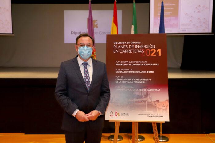 La Diputación invertirá diez millones de euros durante 2021 en la mejora y el arreglo de las carreteras provinciales