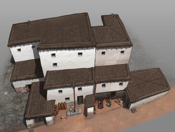 La Universidad de Granada reconstruye informáticamente el urbanismo del asentamiento amurallado de Almedinilla, en Córdoba, destruido por Roma