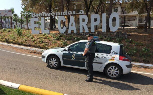 La Guardia Civil detiene en El Carpio a dos personas como supuestas autoras de un delito de robo con violencia e intimidación