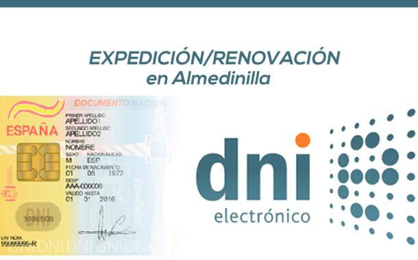 Renovación-Expedición DNI en Almedinilla
