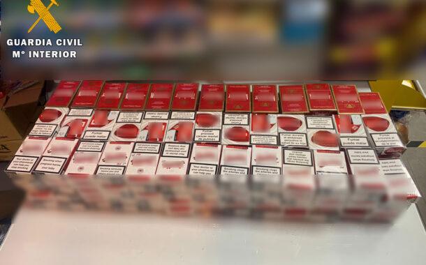 La Guardia Civil aprehende más de 190 cajetillas de tabaco en Fernán Núñez