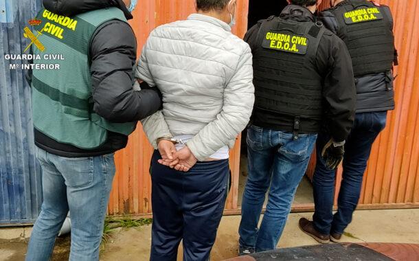 La Guardia Civil aprehende 494.500 cajetillas de tabaco falsificado en Córdoba y detiene a una persona