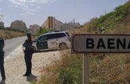 La Guardia Civil ha detenido en Baena a dos vecinos de la localidad como supuestos autores de un delito de robo con intimidación y otro de allanamiento de morada