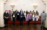La Diputación se suma al 8M reconociendo el trabajo en pro de la igualdad de mujeres y entidades de la provincia