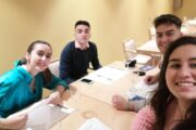 Un grupo de jóvenes almedinillenses, protagonistas en el programa ¡BOOM!