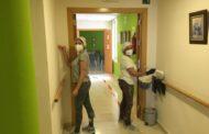El Ayuntamiento intensifica la limpieza de la residencia de mayores