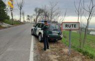 """La Guardia Civil ha investigado en Rute a un vecino de la localidad como supuesto autor de un delito de robo por el procedimiento del """"tirón"""""""