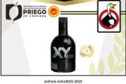 Los Premios JAPAN AWARDS reconocen la calidad de los AOVE'S D.O.P. Priego de Córdoba