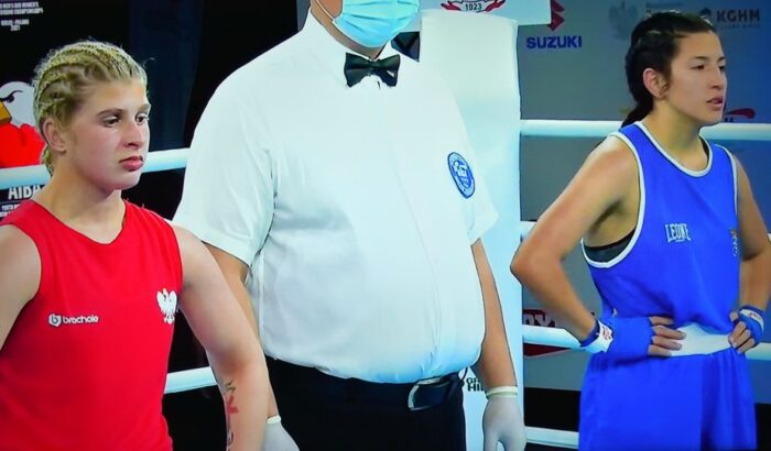 Gisselly realiza un gran combate en el Campeonato del Mundo de boxeo  Categoría Joven