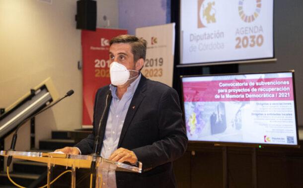 La Diputación destinará 260.000 euros a las convocatorias de subvenciones a proyectos de memoria democrática