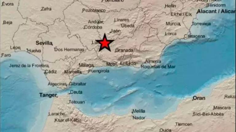 Registrado un terremoto de magnitud 2,9 con epicentro en Alcalá la Real
