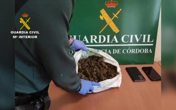 La Guardia Civil detiene en Montilla a dos personas como supuestos autores de un delito de tráfico de drogas