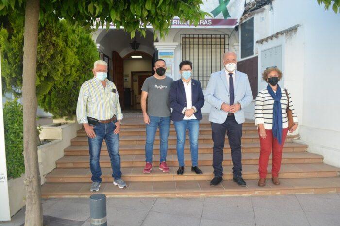 El Presidente de la Diputación de Córdoba visita Fuente-Tójar