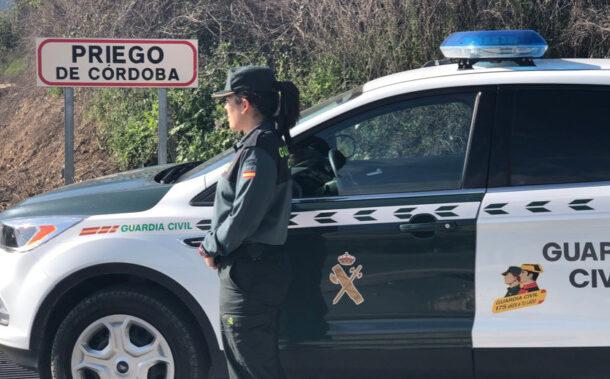 La Guardia Civil investiga a un vecino de Priego de Córdoba por la presunta comisión de un delito de robo con fuerza en una vivienda de Doña Mencía