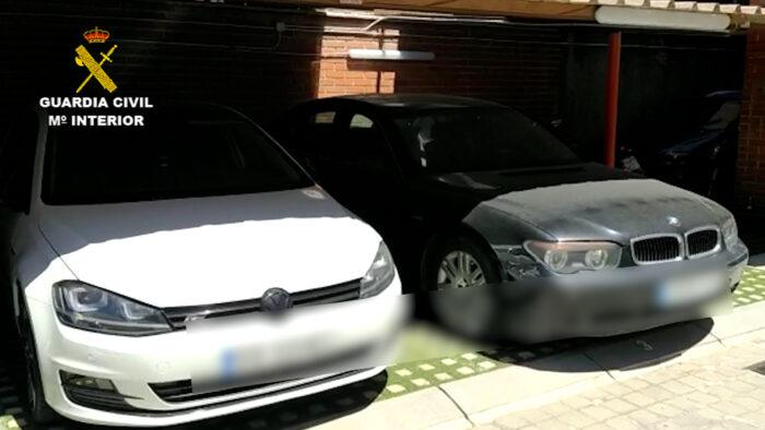 La Guardia Civil de Córdoba desarticula un grupo criminal dedicado a la compra venta ilegal de vehículos de segunda mano