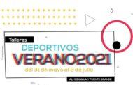 Talleres deportivos verano 2021 en Almedinilla