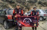 Nuestros paisanos Trinidad García y Damián Bolívar, primero y tercer puesto en la Liga Andaluza de Recorrido 3D de Tiro con Arco Femenino y Masculino