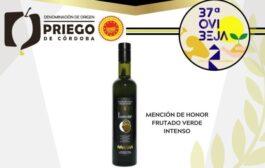 Reconocimiento a la calidad de los AOVEs DOP Priego de Córdoba en los premios OVIBEJA 2021