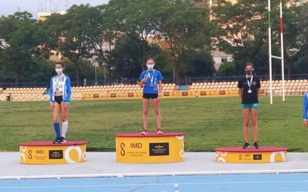 Nuestra atleta almedinillense, Mar Calmaestra Ortiz, nuevamente medallista en el Campeonato Andaluz y clasificada para  el Campeonato de España.