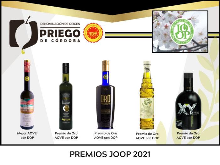 Cinco firmas de la D.O.P. Priego de Córdoba reconocidas en los Premios Joop en Japón