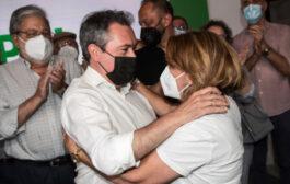 Juan Espadas arrasa en las primarias del PSOE en Almedinilla