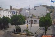 La plaza del Ayuntamiento de Carcabuey, a la vista de todo el mundo