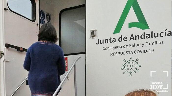 La Unidad Móvil de la Junta se desplazará hasta Almedinilla para realizar un cribado masivo ante el repunte de casos