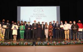 El sector turístico cordobés ve reconocido su trabajo en la 9ª Gala Provincial del Turismo