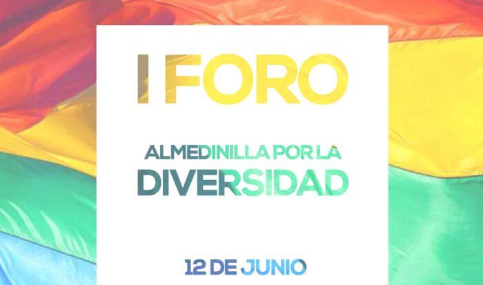 I Foro por la Diversidad - Mañana sábado 12 de junio a las 20.00h