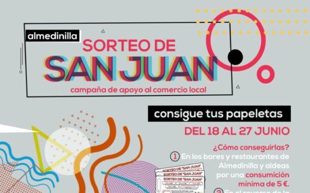 Sorteo de San Juan - Campaña de apoyo al comercio local del 18 al 27 de junio