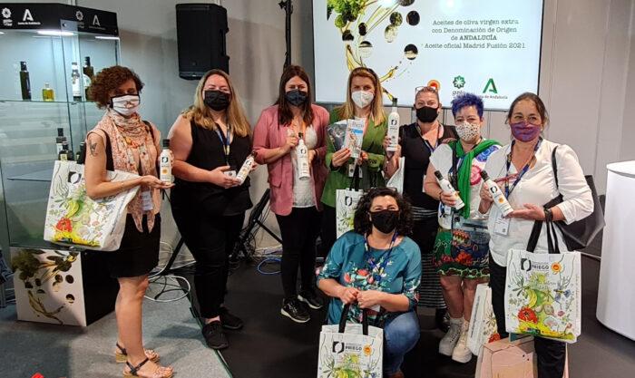 Los aceites con D.O.P. Priego de Córdoba AOVES Oficiales de Madrid Fusión, el Primer Congreso Global de Gastronomía Mundial