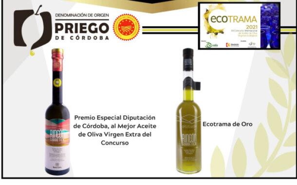 Dos firmas amparadas bajo la D.O.P. Priego de Córdoba galardonadas en Ecotrama