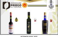Tres AOVE's amparados bajo la D.O.P. Priego de Córdoba premiados en Grecia