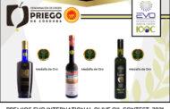 Tres firmas de la DOP Priego de Córdoba premiadas en el Concurso EVO IOOC