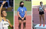 Tres medallas para el Club Atletismo Virgen del Castillo en el Campeonato de Andalucía Sub16