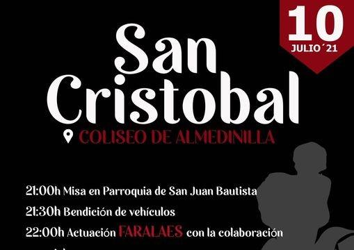 Fiesta de San Cristóbal con Faralaes de Almedinilla