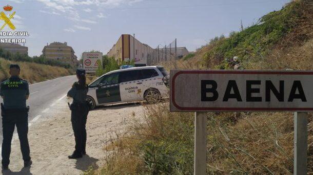 La Guardia Civil detiene en Baena a dos personas como supuestas autoras de un robo con fuerza en un cortijo de Alcalá la Real