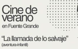 Cine de verano en Fuente Grande