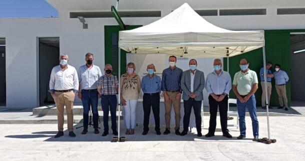 La Diputación de Córdoba recepciona de manos de la Junta de Andalucía la obra de los colectores de Doña Mencía