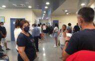 La unidad móvil del CRTS de Córdoba no pudo atender el elevado número de donantes almedinillenses